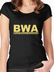 Bread Winners Association Kevin Gates Women's Fitted Scoop T-Shirt