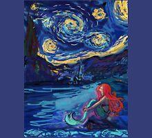 Starry Starry Night meets Mermaid Unisex T-Shirt
