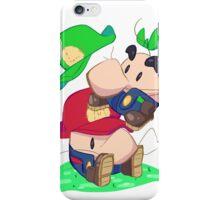Super Saturn Bros. iPhone Case/Skin