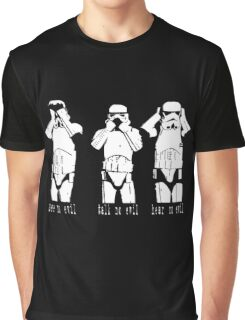 3 WISE TROOPERS Graphic T-Shirt