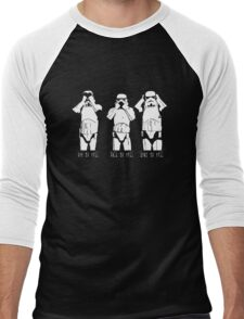 3 WISE TROOPERS Men's Baseball ¾ T-Shirt