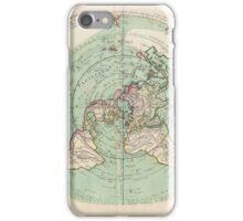 AE MAP Flat Earth iPhone Case/Skin