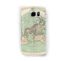 AE MAP Flat Earth Samsung Galaxy Case/Skin