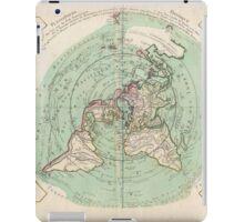 AE MAP Flat Earth iPad Case/Skin