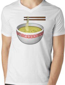 Ramen Emoji Mens V-Neck T-Shirt