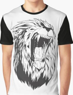 Roaring lion Graphic T-Shirt