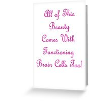 All of this ... Greeting Card
