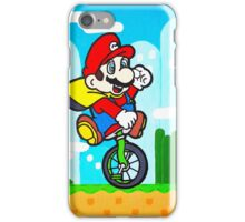 Mario Uni iPhone Case/Skin