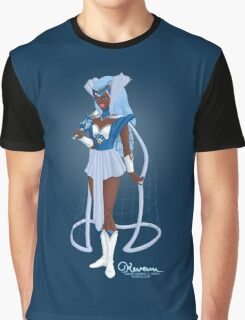 The Captivating Cerulean Huntress by Kevenn T. Smith Graphic T-Shirt