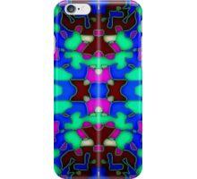 Bohemian blue, modern design iPhone Case/Skin