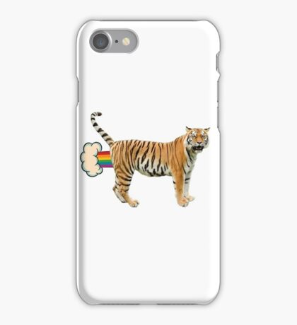 Giant Realistic Flying Tiger iPhone Case/Skin