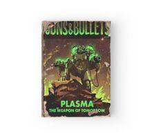 Guns and Bullets (Plasma) Hardcover Journal