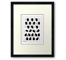 'White Hills' design by LUCILLE Framed Print