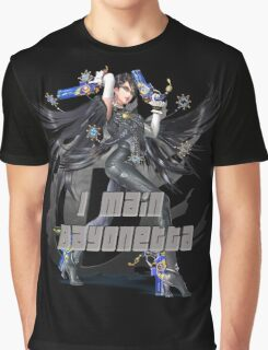 I MAIN BAYONETTA Graphic T-Shirt
