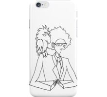 A Geography Teacher and his pet Crow iPhone Case/Skin