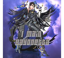 I MAIN BAYONETTA Photographic Print