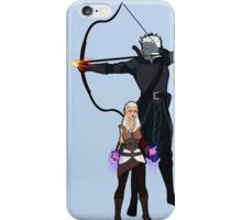 Dungeons and Dragons Characters - Fae and Talion iPhone Case/Skin