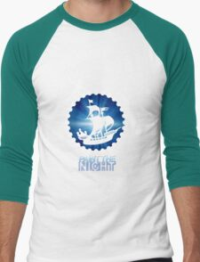 Paint the Night - Second Star to the Right Men's Baseball ¾ T-Shirt