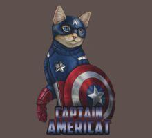 Captain Americat One Piece - Short Sleeve