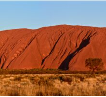 Uluru at sunset Sticker