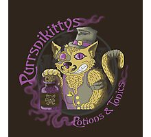 Purrsnikittys Potions and Tonics Photographic Print