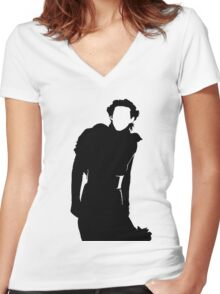 Kylo  Women's Fitted V-Neck T-Shirt
