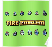 GBA LORDS | Fire Emblem Poster