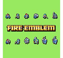 GBA LORDS | Fire Emblem Photographic Print