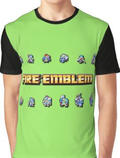 GBA LORDS   Fire Emblem Graphic T-Shirt