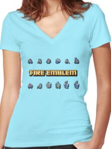 GBA LORDS | Fire Emblem Women's Fitted V-Neck T-Shirt