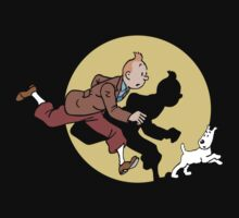 tin tin james snowy by Lescistoop1961