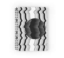 'Rising Moon' design by LUCILLE Spiral Notebook