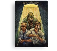 Rust and Marty visit Carcosa Canvas Print