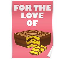 Love Mom's Cakes Poster