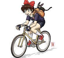 Kiki's Bike Messenger Service by Usagisama