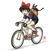 Kiki's Bike Messenger Service Photographic Print