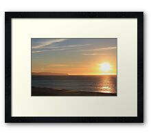 Carrickalinga Sunset #11 Framed Print