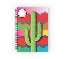 'Desert Sun' design by LUCILLE Spiral Notebook