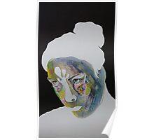 Paper Portrait Poster