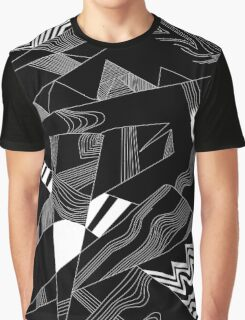 'Line Composition' design by LUCILLE Graphic T-Shirt