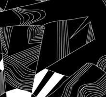'Line Composition' design by LUCILLE Sticker