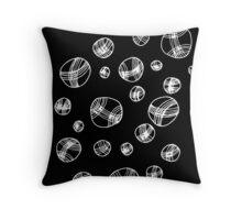 'Falling balls' design by LUCILLE Throw Pillow