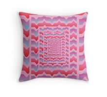 'Psychedelia' design by LUCILLE Throw Pillow