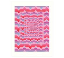 'Psychedelia' design by LUCILLE Art Print