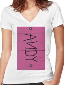 Buzz's Shoe Women's Fitted V-Neck T-Shirt