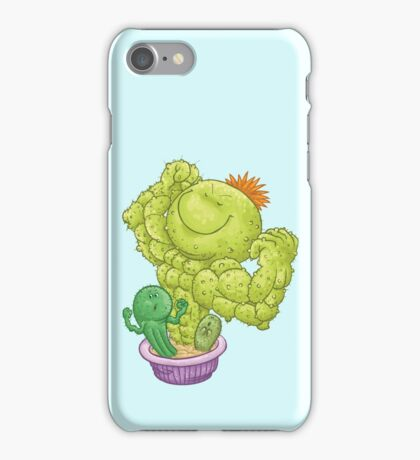 Strong Cactus iPhone Case/Skin