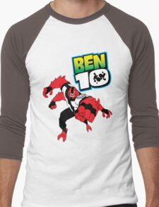 Ben Ten Men's Baseball ¾ T-Shirt