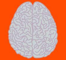 Pastel Brain Kids Tee