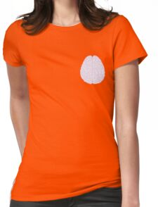 Pastel Brain Womens Fitted T-Shirt
