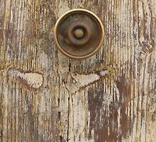 detail of old wooden door by spetenfia